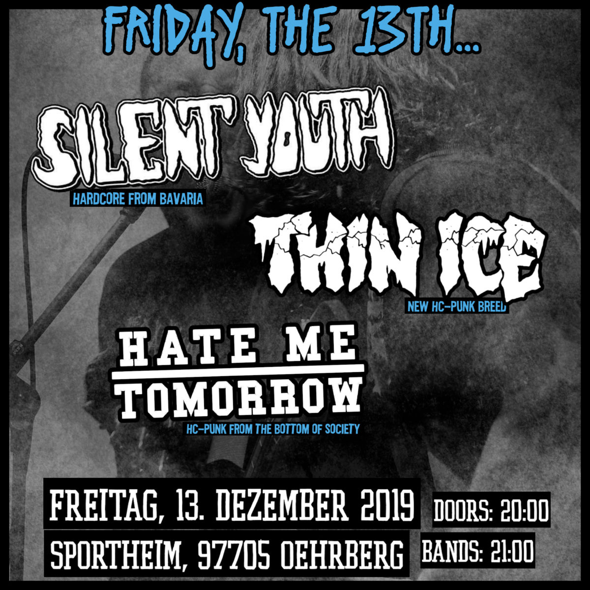 2019-12-13-Silent Youth, Hate Me Tomorrow