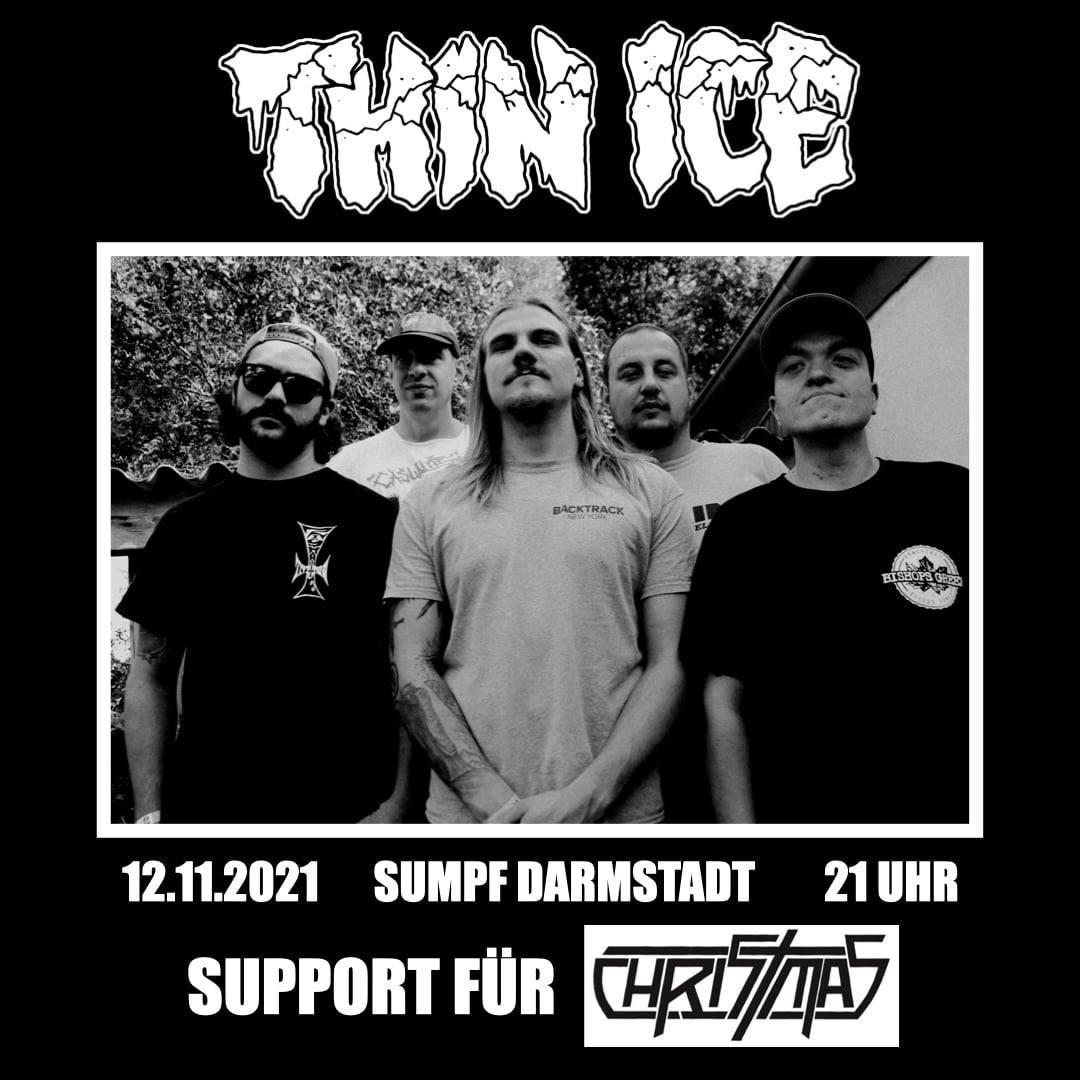2021-11-12 - Sumpf Darmstadt w. Christmas und 5 Farben Scheisse